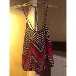 Cute top with Criss cross shoulder straps